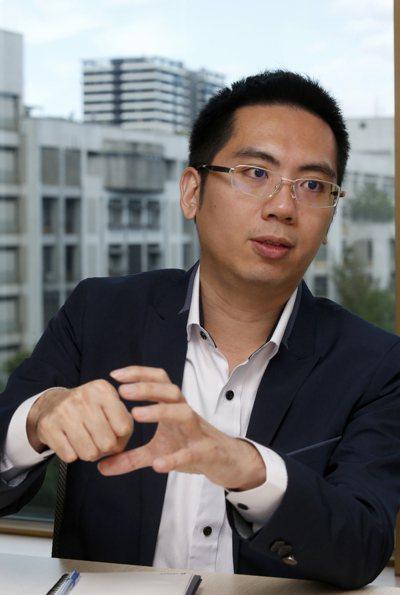 天奕科技總經理陳宗逸。 記者鄭超文/攝影