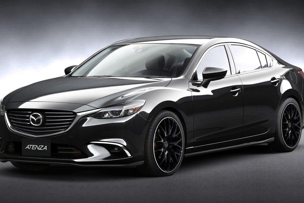 Mazda 6車型同樣推出Racing Concept版本。 摘自Mazda.com
