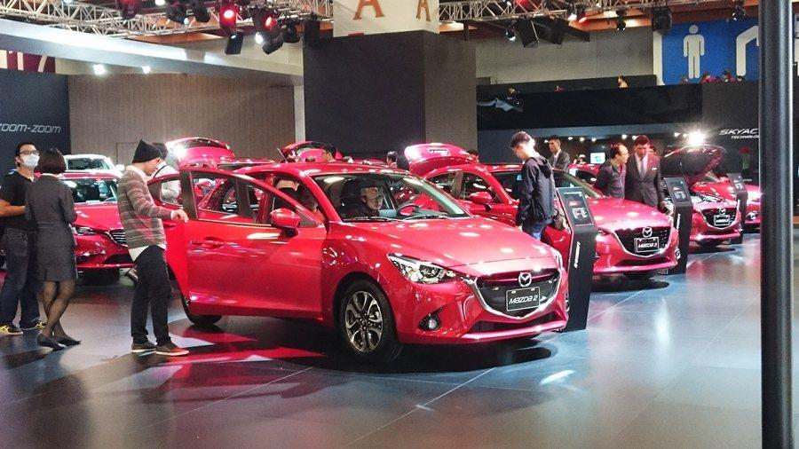 Mazda祭出超優惠價,車展期間接單破300台。