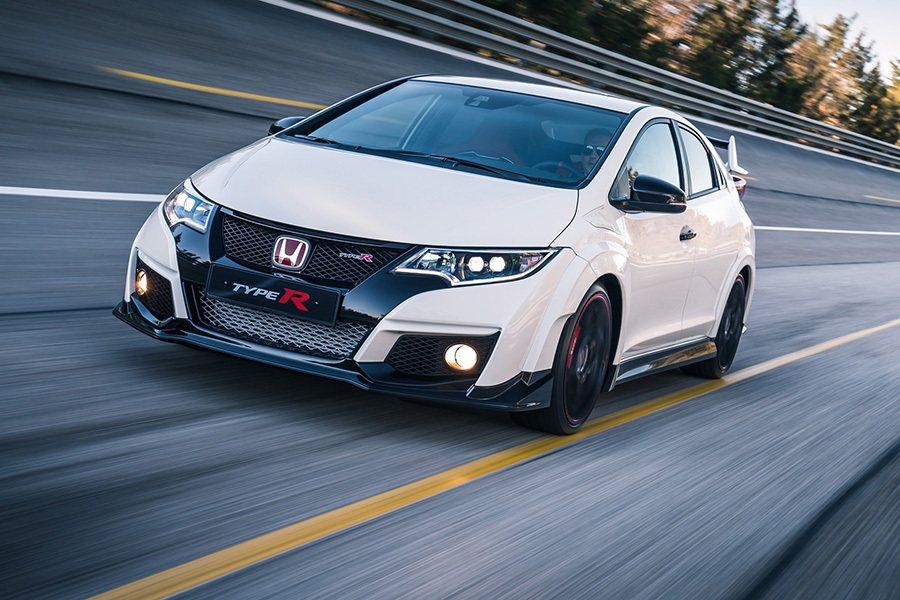 2017年中發表的Civic Type-R性能鋼砲。 Honda提供