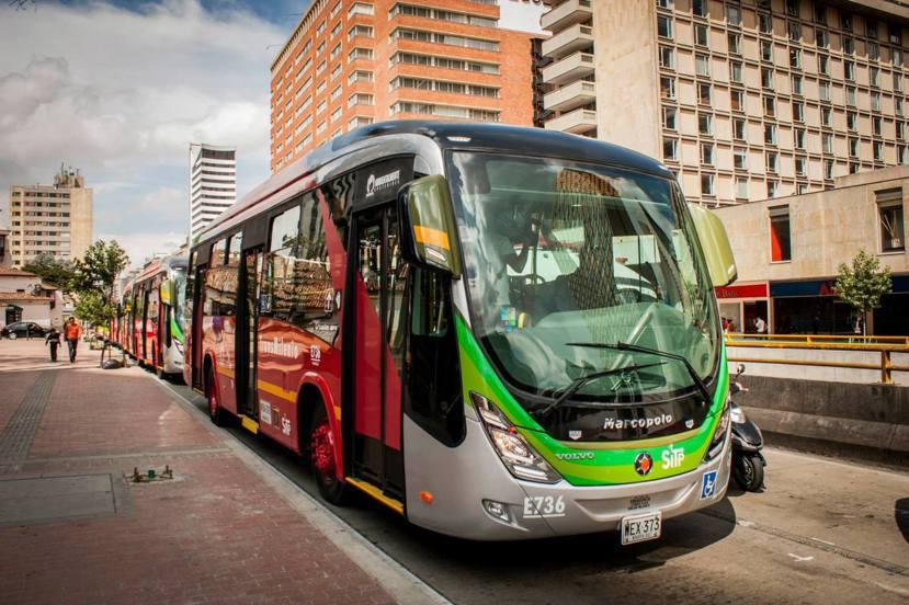 除了系統本身的優異性,輔助條件更是波哥大BRT成功的關鍵所在。圖為波哥大的接駁小...
