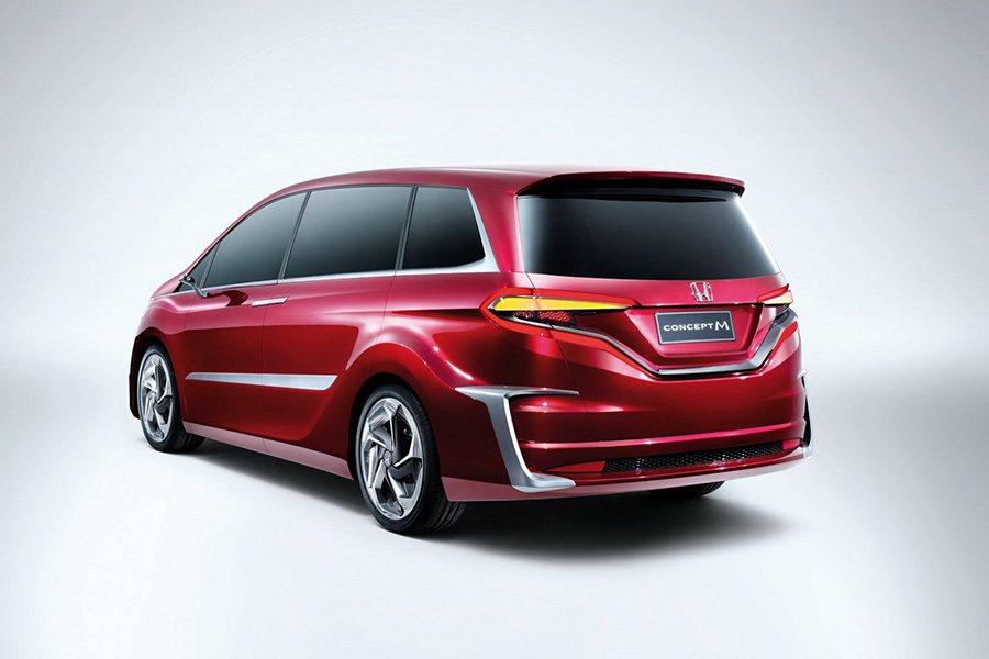 2013年上海車展中發表的 Honda Concept M概念車。 Honda提供