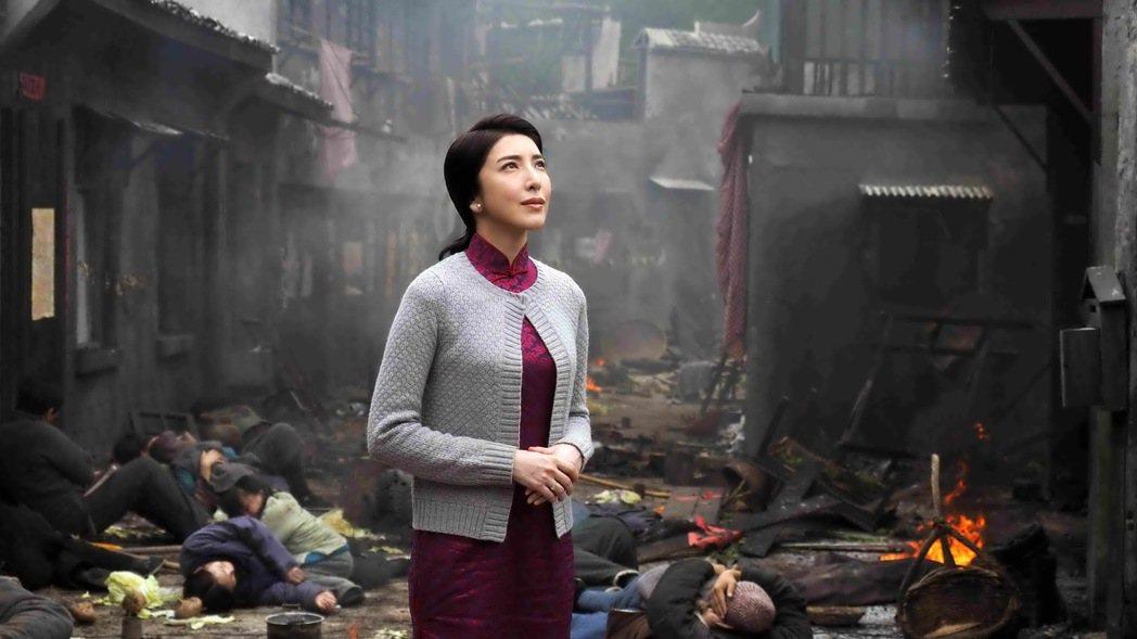 楊謹華在新戲《一把青》中,表現出不同於過往的內斂演技。 圖/公視提供,許培鴻攝影