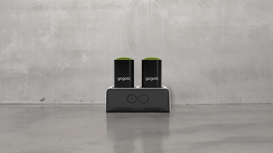 Gogoro發表全新智慧電池座GoCharger,可隨時隨地自由充電不受限。 圖/Gogoro提供