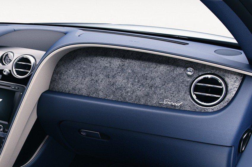 原廠針對旗下Flying Spur及Continental等兩款車型提供薄石飾板選配。 摘自Bentley.com