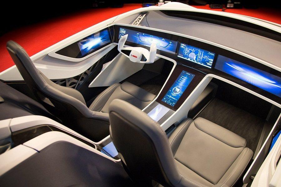 Bosch在今年的CES中將展出一套全電子螢幕化的儀表板。 取自worldcarfans.com