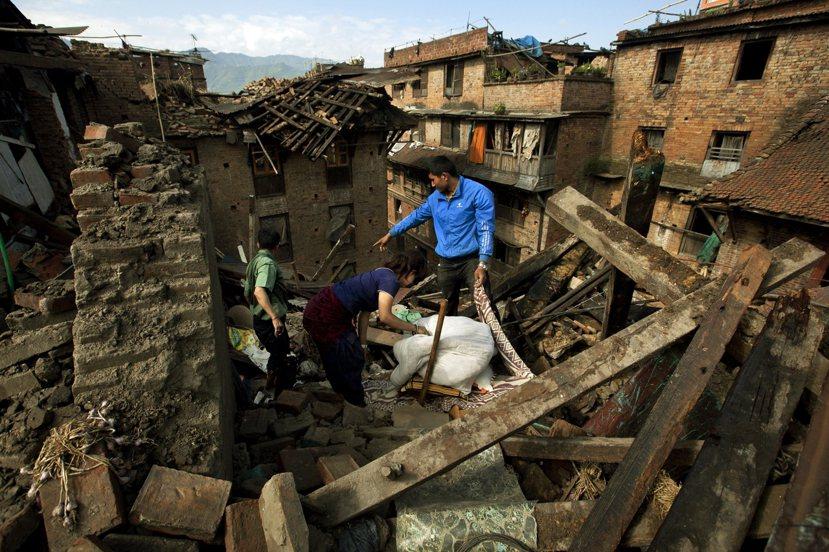 大地震後的尼泊爾,怎麼了? 圖/美聯社