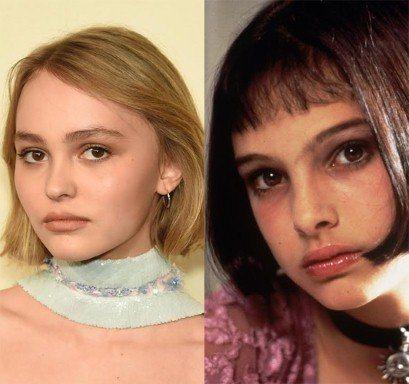 娜塔莉波曼與莉莉蘿絲都同樣有一雙棕色的大眼睛,鼻形也有點相似。右圖為娜塔莉波曼早...