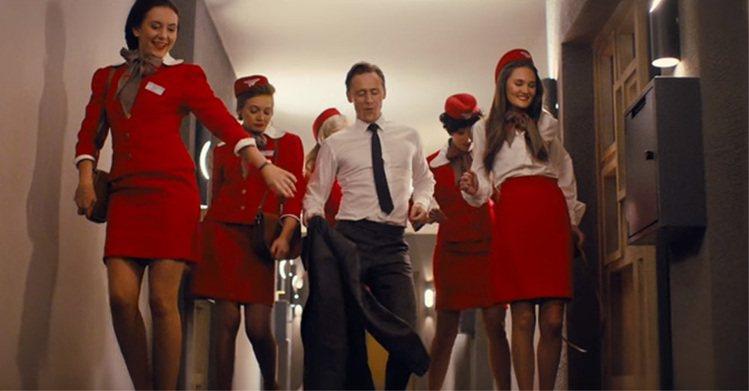 英國男星湯姆希德斯頓在新片《High Rise》中大秀熱舞。圖/擷自Youtub...