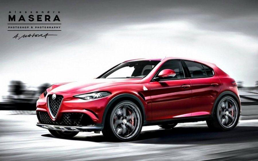 從之前網路流傳的數位假想圖來看,全新Alfa Romeo外型應該會延續其家族面貌...