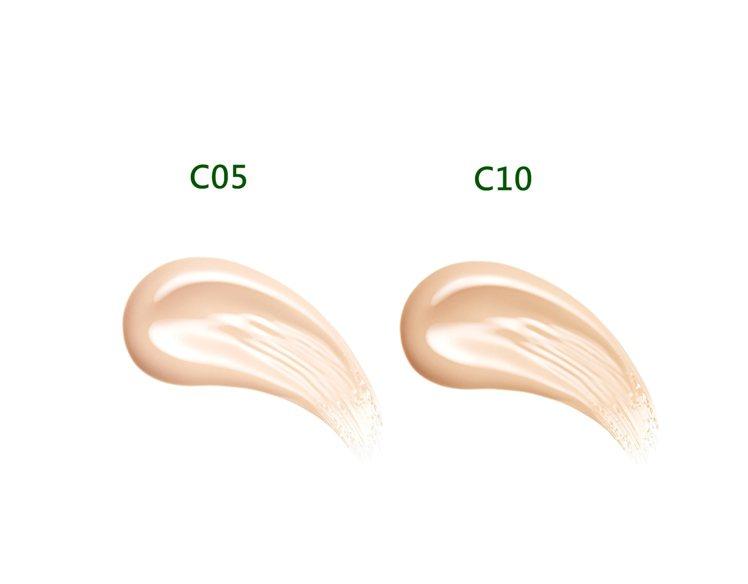 推出2種色號,C05白皙肌、C10自然肌。(10g,NT0)圖/UNT提供