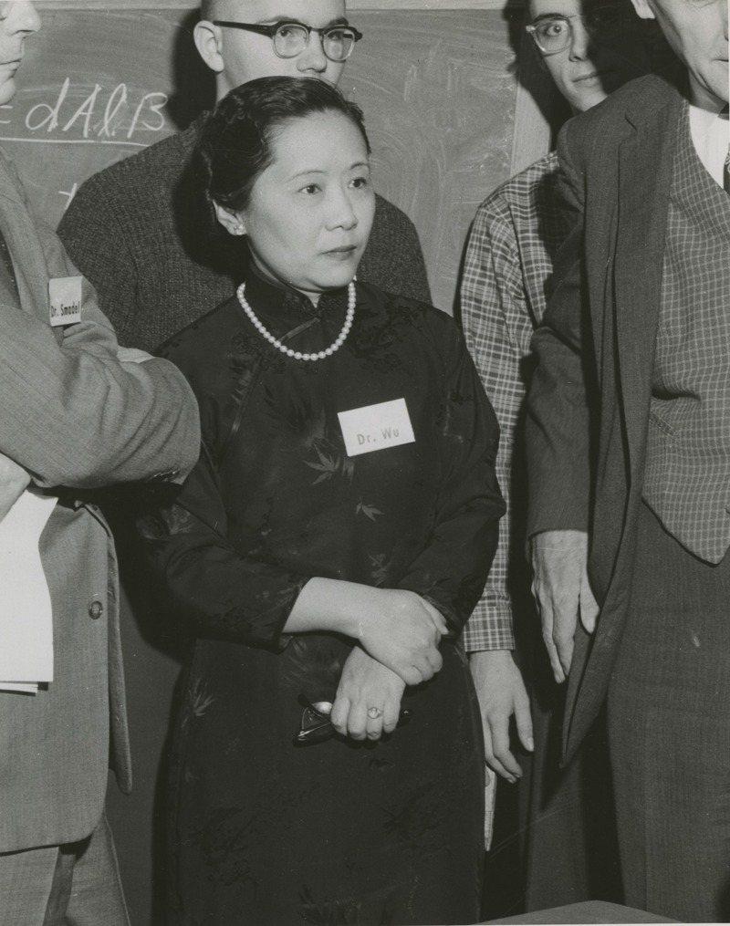 華裔物理學家吳健雄(Chien-Shiung Wu)。圖/取自Smithsonian Institution from United States