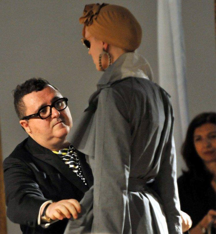 艾爾巴仕(Alber Elbaz)離開LANVIN,在時尚圈投下震憾彈。圖/LA...