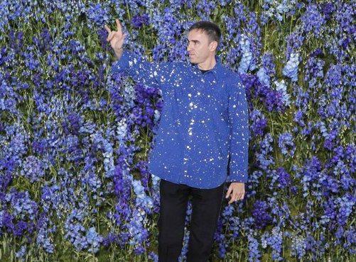 Raf Simons為了實現自我,宣布離開Dior。圖/Dior提供