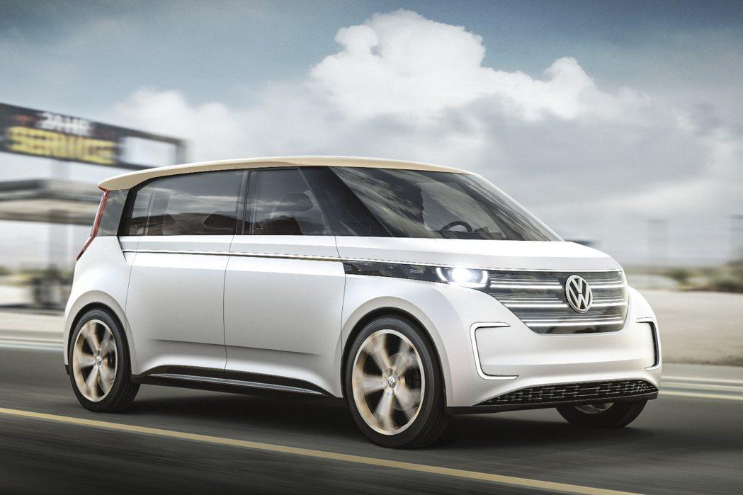 Volkswagen也推出了全新電動休旅車─Budd-e Concept。 摘自Volkswagen.com