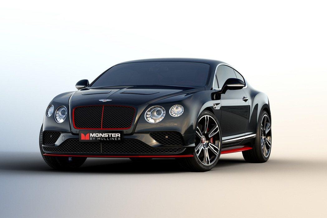 Mulliner找來音響大廠Monster合作,推出Continental Monster by Mulliner版本。 摘自Bentley.com