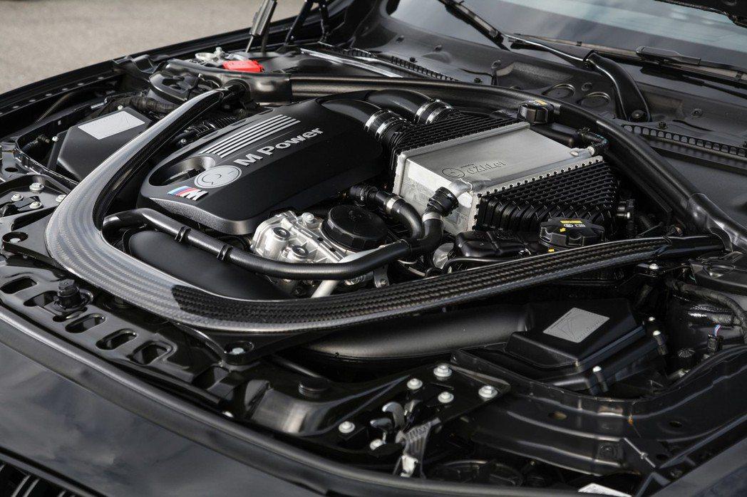 強化後的M4 Convertible擁有503hp的最大馬力,峰值扭力則為71.8kgm。 摘自Daehler Design&Technik GmbH