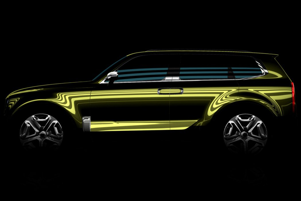 KIA將於本屆底特律車展上亮相全新大型SUV概念車型─KCD12。 摘自KIA.com