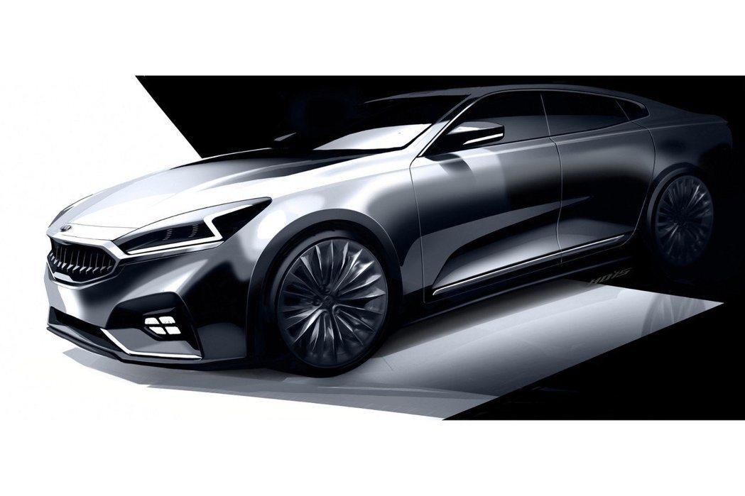 去年11月原廠曾釋出有關於Cadenza後繼車的草圖。 摘自KIA.com