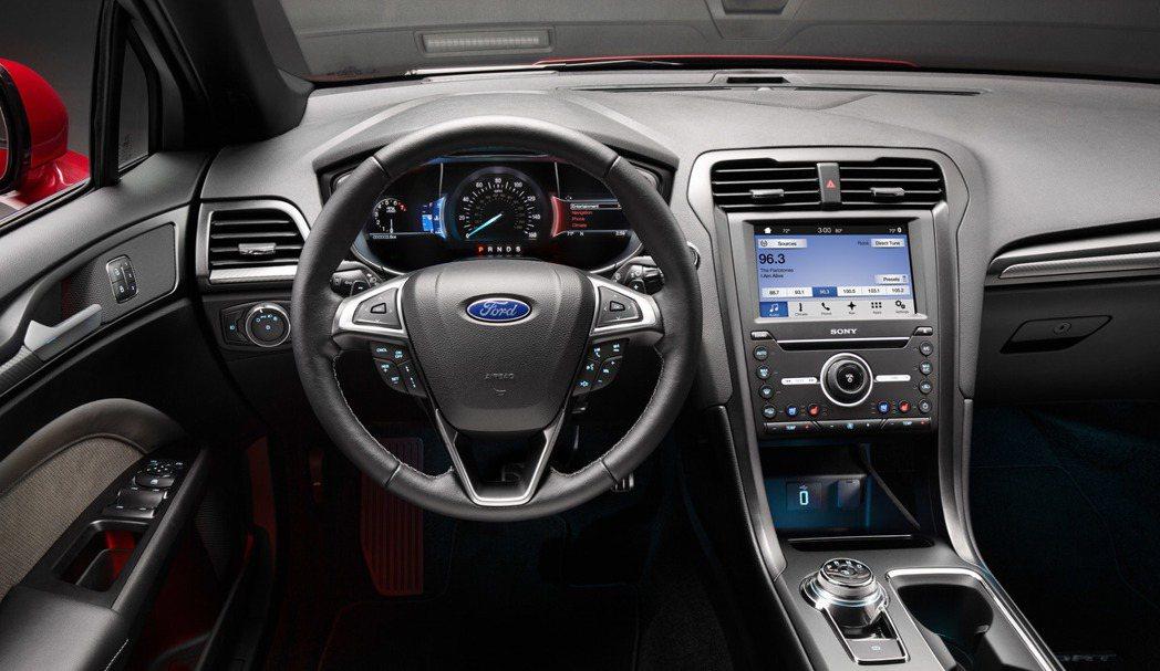 內裝大致相同,導入了全新的SYNC 3車載系統。