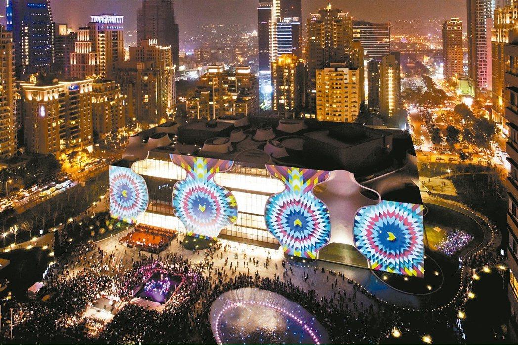 台中國家歌劇院。 台中市新聞局/提供