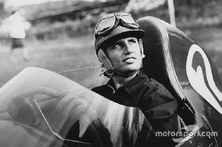 Maria曾在1958與1959年代表Maserati 與Porsche出賽。 摘自motorsport.com