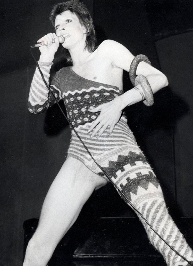 七○年代:視覺系華麗搖滾。圖/達志影像