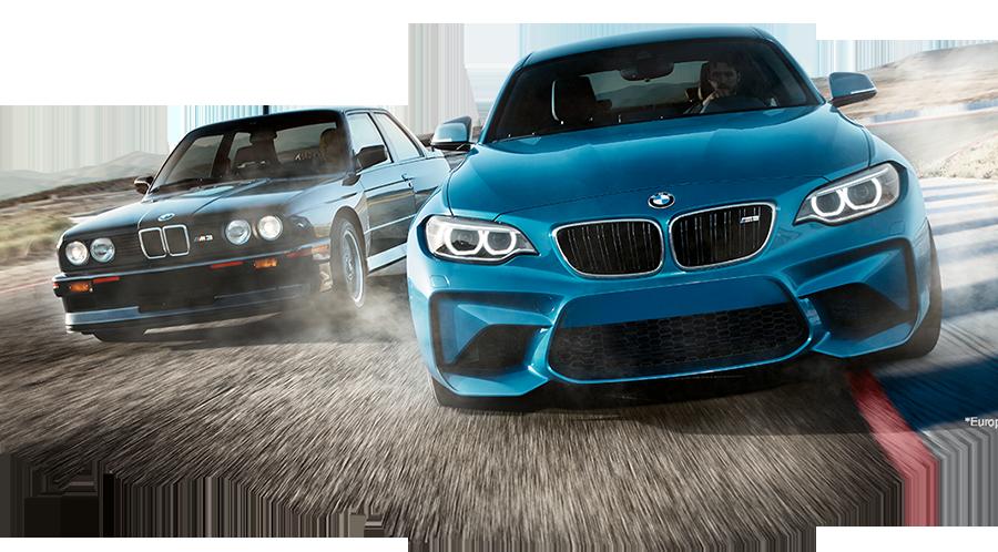 全新2016年式 BMW M2 Coupe雙門轎跑車與經典E30 M3。 BMWW提供