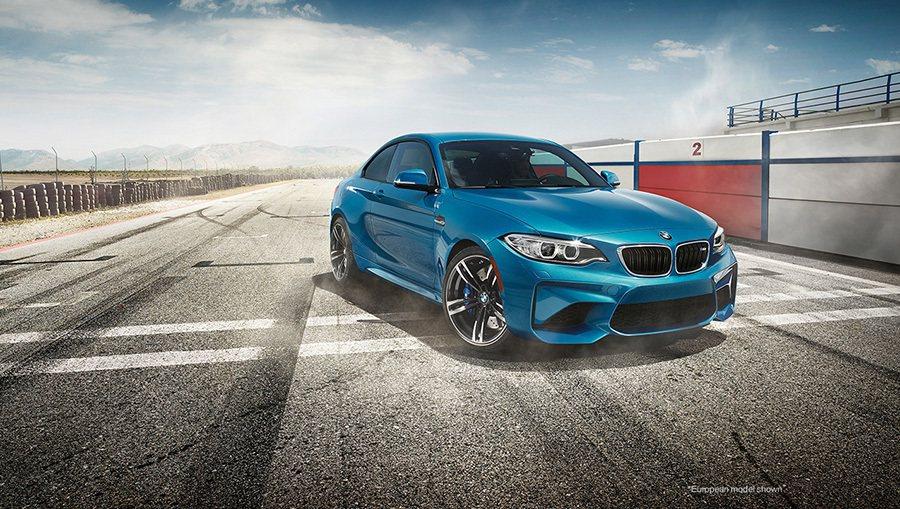 全新2016年式 BMW M2 Coupe雙門轎跑車。 BMWW提供