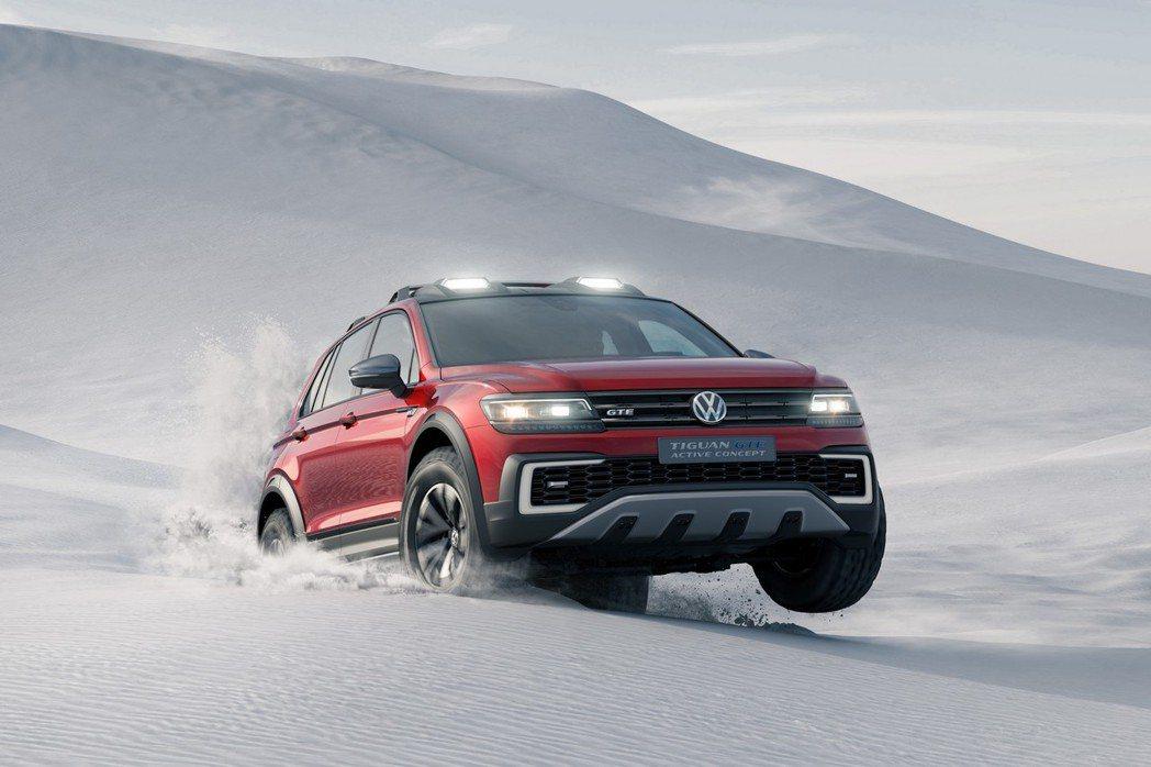 第二代Tiguan作為基礎進行打造,同樣使用MQB模組化平台,並提供四輪驅動設定。 摘自VW.com