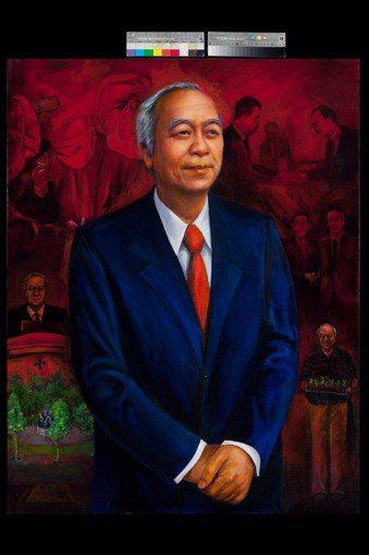 畫家沈昌明老師2011-2016,五年功夫完成的作品。