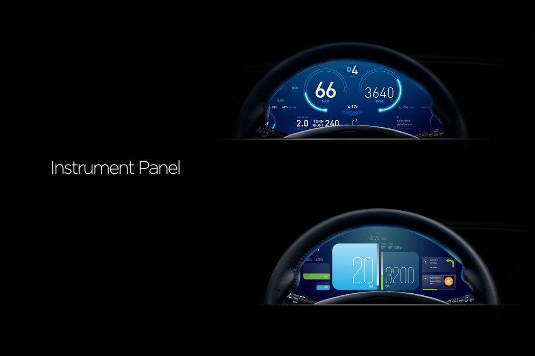 內裝導入全新12.2吋數位儀錶組。 摘自Aston Martin.com