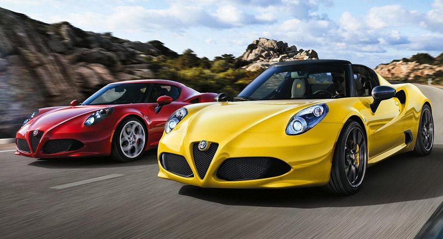 Alfa Romeo 4C小跑車 Alfa Romeo提供