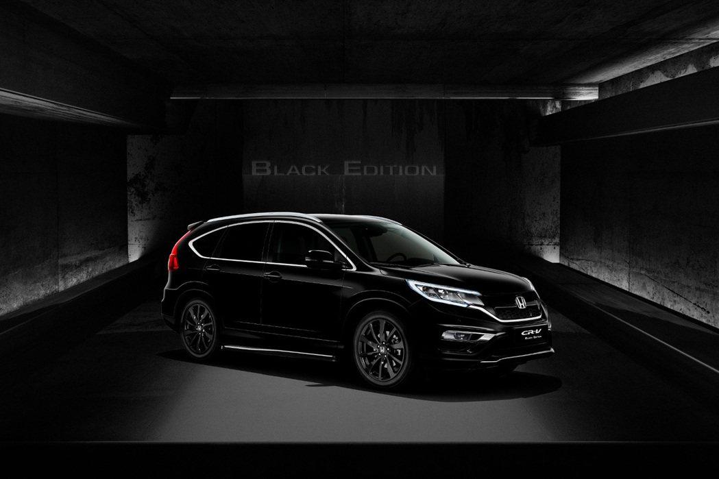 近日Honda將於英國推出CR-V黑金剛特仕版。 摘自Honda.com
