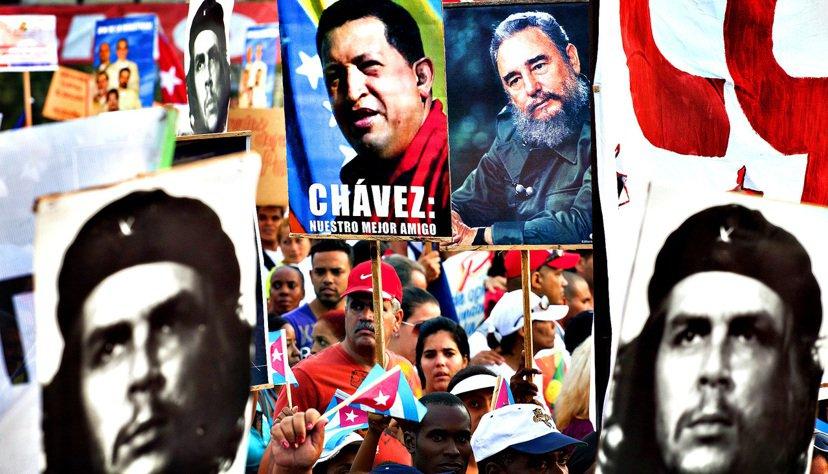 「不然,你難道不覺得古巴人的活動,卻辦在委內瑞拉使館的文化交流中心...很奇怪嗎...