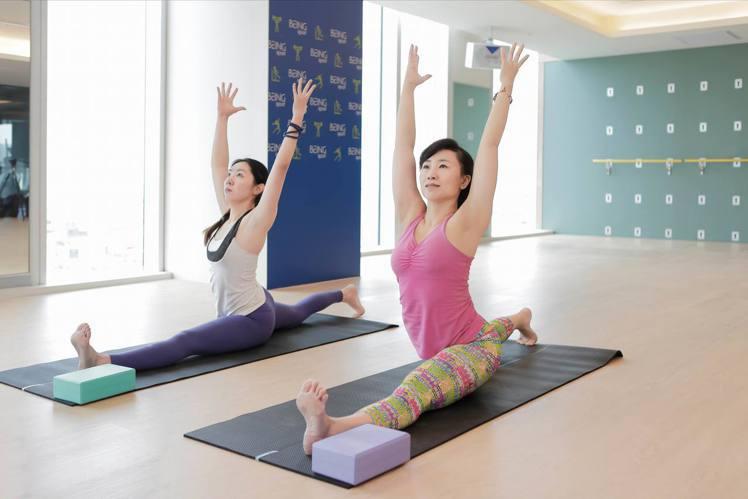 找朋友一起運動已是現代人的社交活動之一。圖/統一健身俱樂部提供