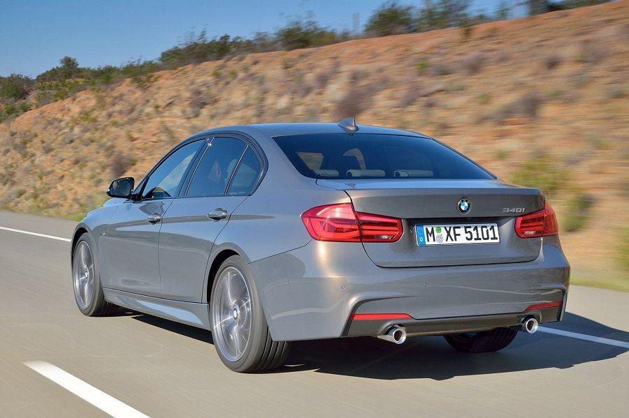 現行小改款之BMW 3系列。 摘自carmagazine.co.uk