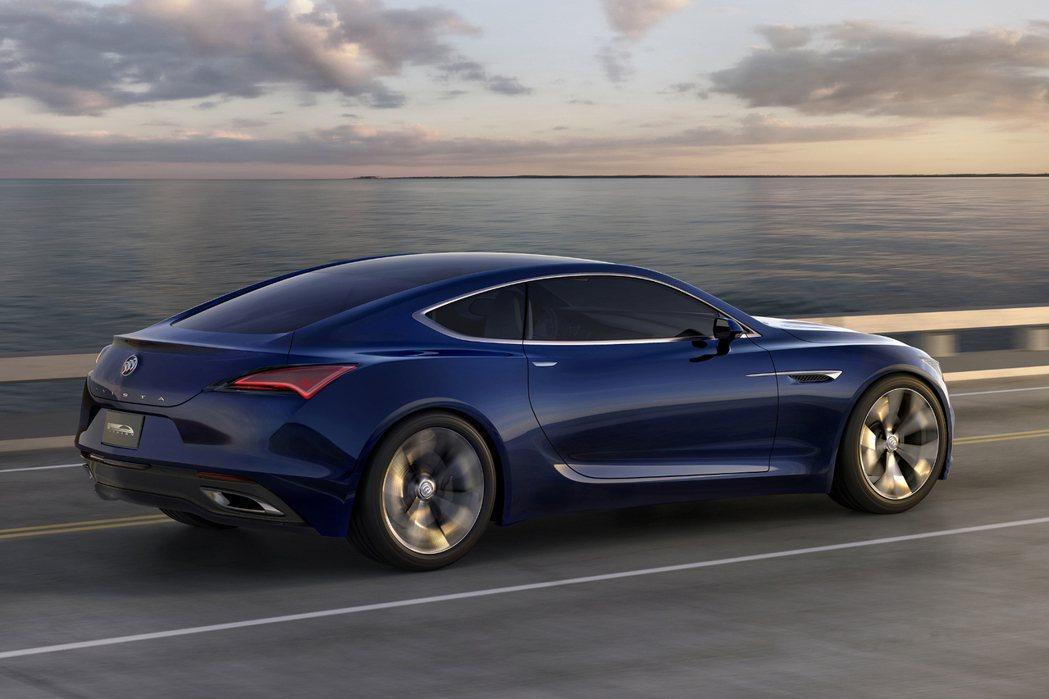 Avista以雙門跑車為主要設計概念,但外型仍以優雅、修長的線條輪廓呈現豪華風格。 摘自Buick.com