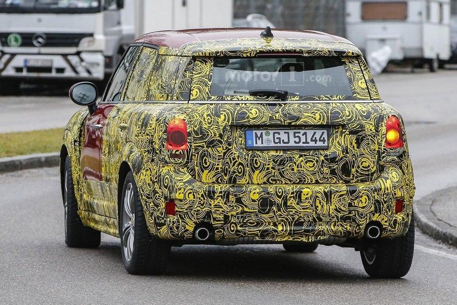 新的Mini Countryman預計在今年10月的巴黎車展發表,並隨後開始銷售。 摘自worldcarfans.com