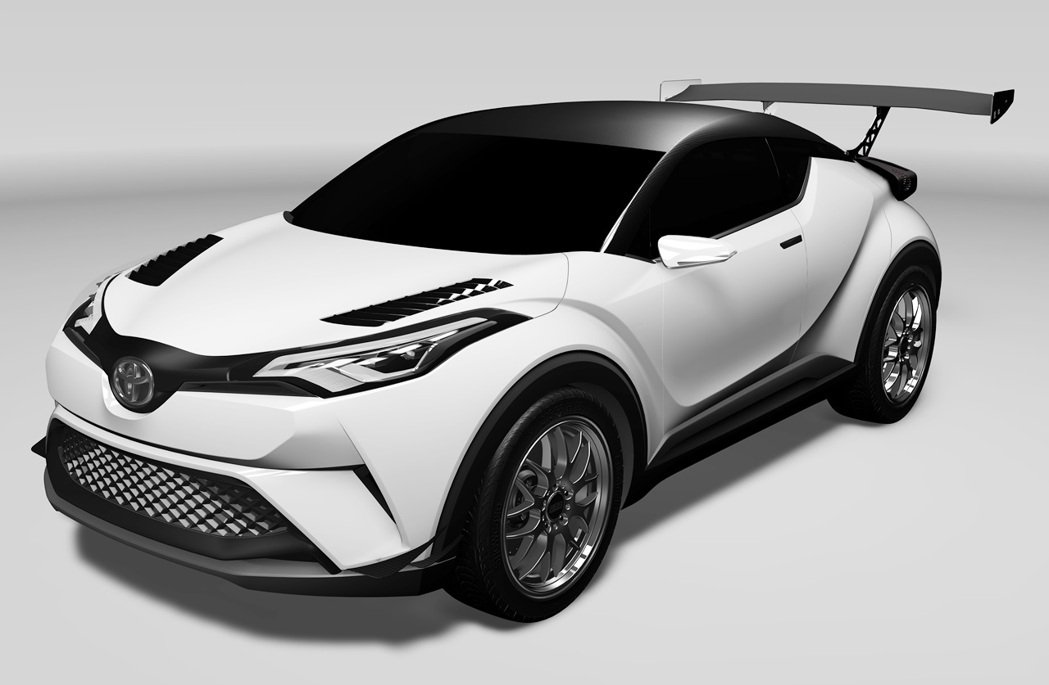 Toyota的跨界休旅CH-R將參與今年的紐柏林耐力賽。