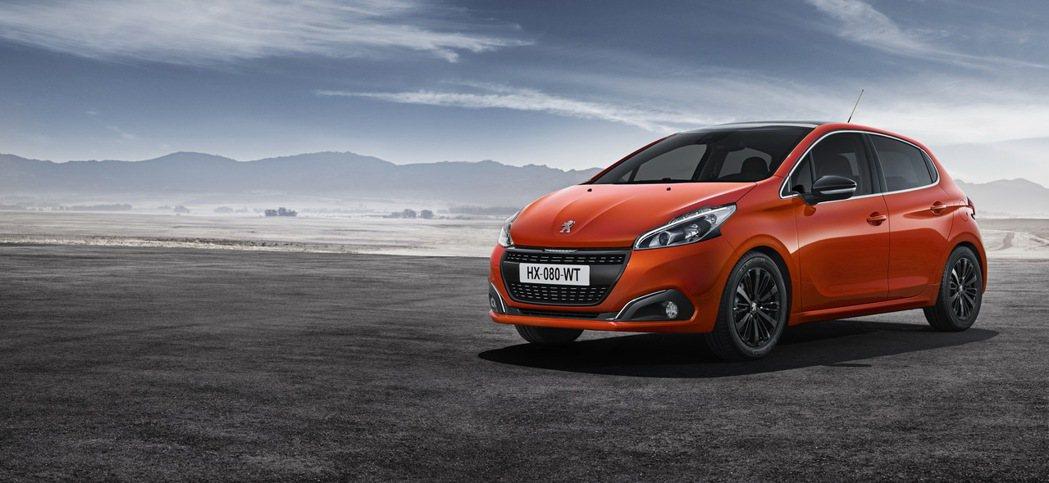 Peugeot 208 1.2L PureTech。 圖/寶嘉聯合提供