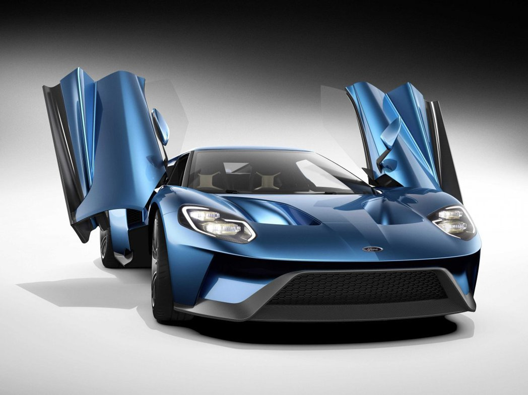 Ford GT。 圖/Ford提供