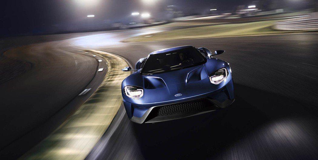 Ford GT最大馬力上看600hp。 圖/Ford提供