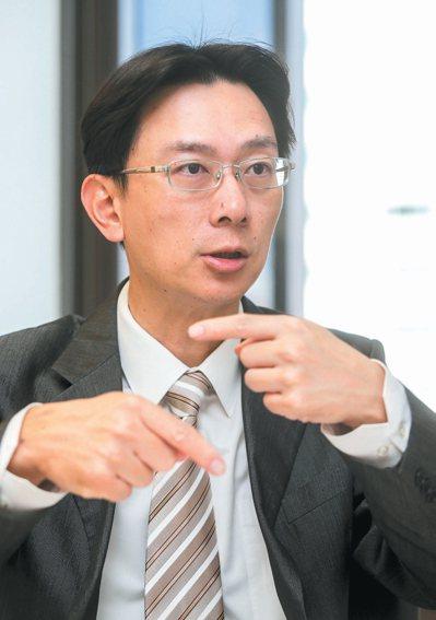 研華寶元總經理郭倫毓。 記者黃士航/攝影