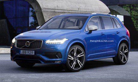 Volvo XC40概念圖 小型SUV加入