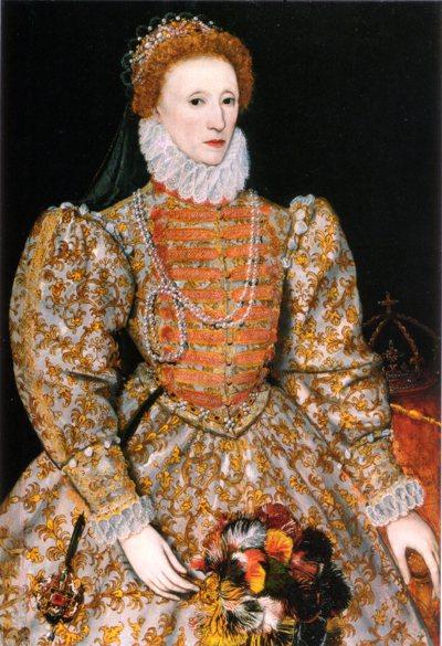 伊麗莎白一世。 圖/via wikimedia.