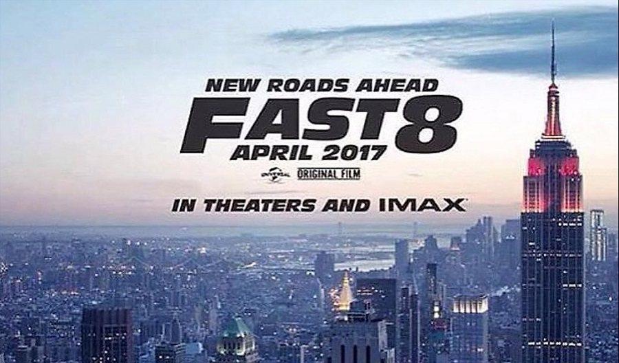 新一集玩命關頭將在2017年4月上映,拍攝背景為紐約市。 摘自carscoops.com