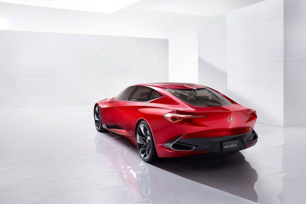 Precision概念車不僅是品牌最新力作,其中也保留了許多Acura品牌的設計風格。 摘自Acura.com