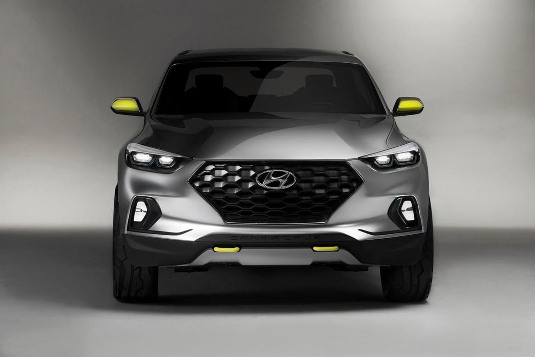 Hyundai Santa Cruz內裝照尚未釋出,須待量產車型確認後方能揭曉。 摘自Hyundai.com