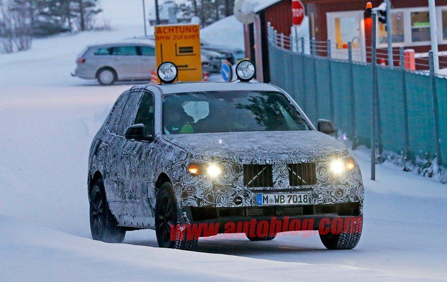 新一代BMW X5測試照流出。 摘自autoblog.com
